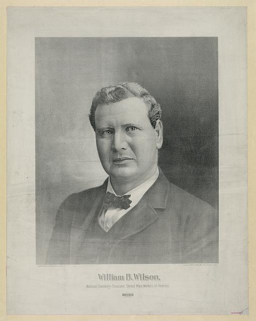 William B. Wilson, national secretary-treasurer, united mine workers of America