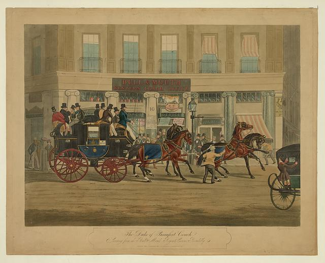 The Duke of Beaufort coach