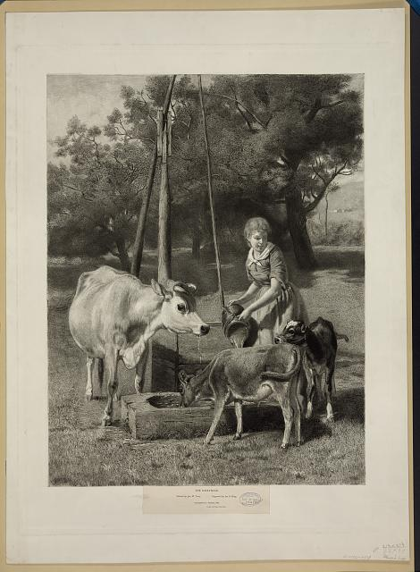 The dairymaid