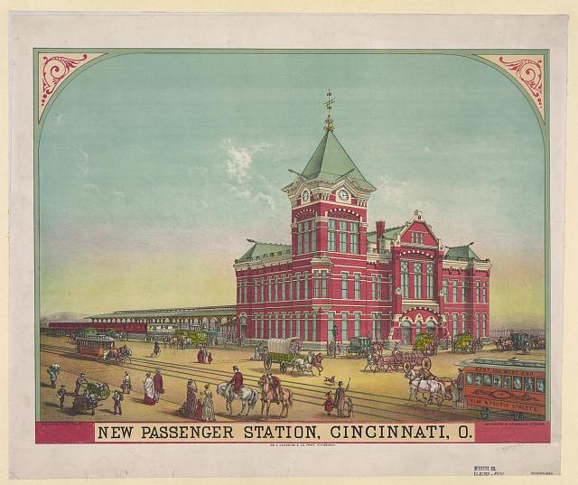 New passenger station, Cincinnati, O.
