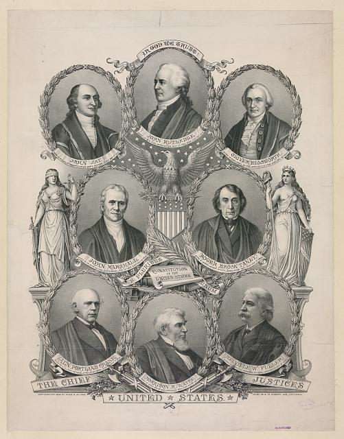 The Chief Justices of the United States