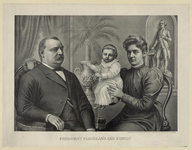 President Cleveland and family