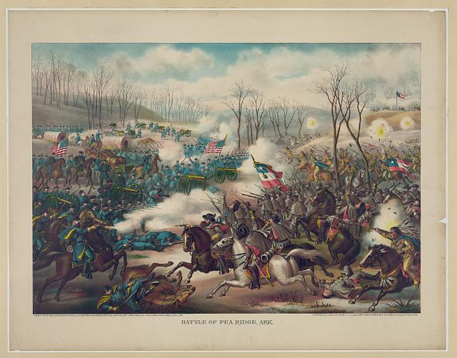 Battle of Pea Ridge, Ark.
