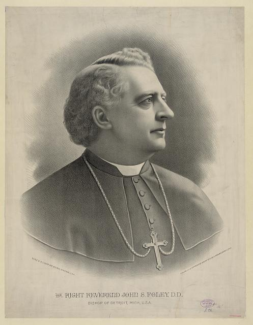 The right Reverend John S. Foley, D.D., Bishop of Detroit, Mich., U.S.A.