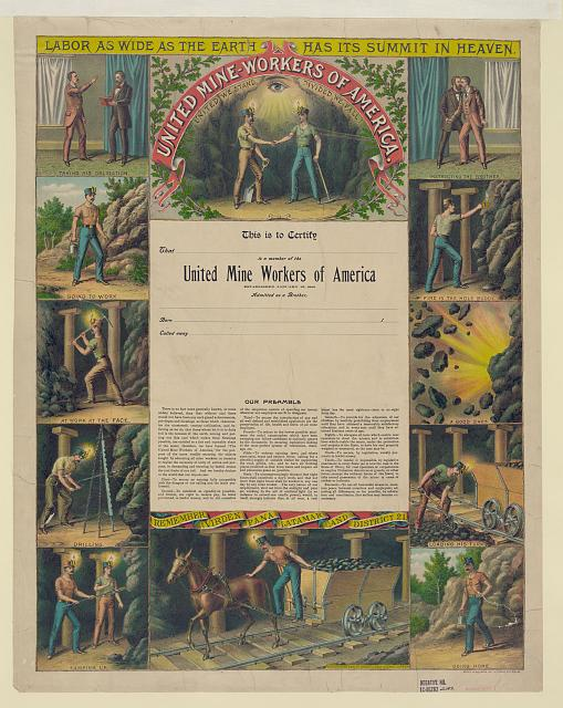 United Mine-Workers of America