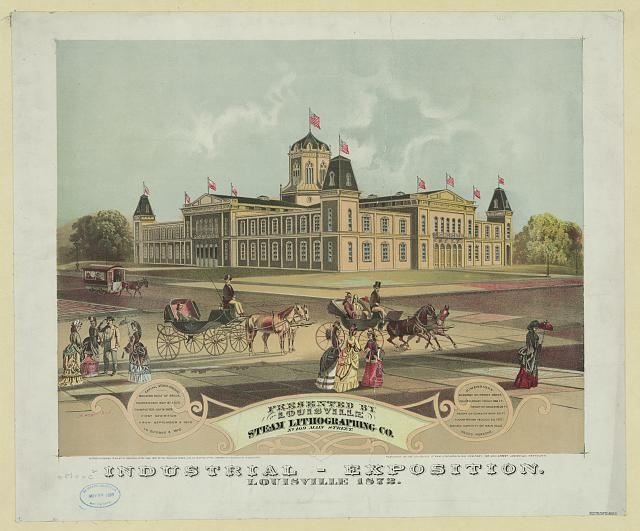 Industrial-exposition. Louisville 1872