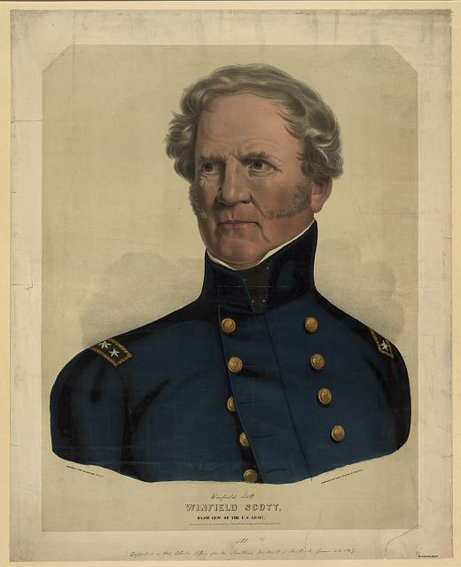 Winfield Scott, Major Genl. of the U.S. Army