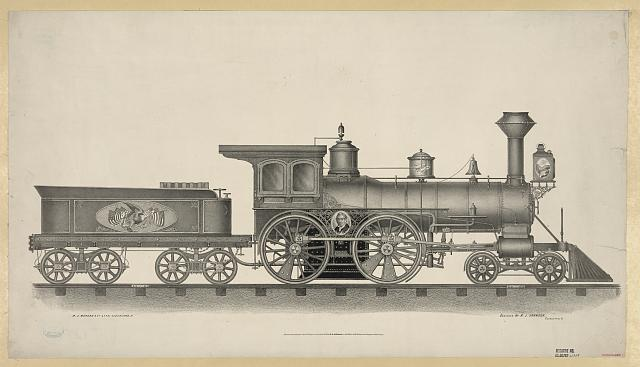 [Railroad engine]