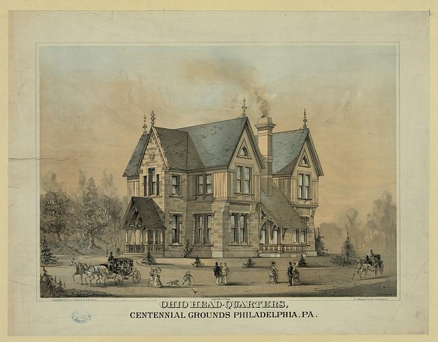 Ohio head-quarters, centennial grounds Philadelphia, PA