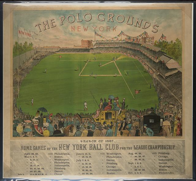 The polo grounds. New York