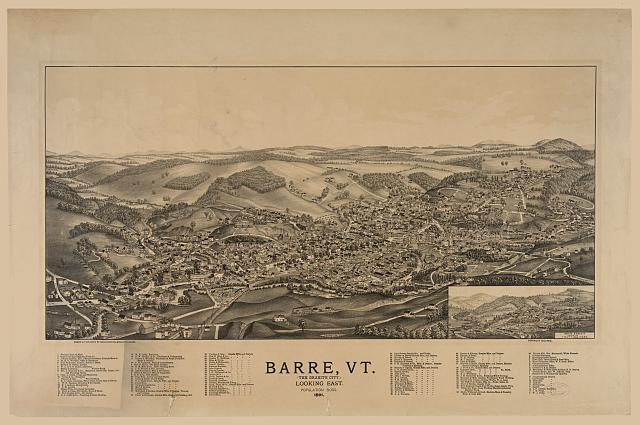 Barre, Vt. (The granite city)