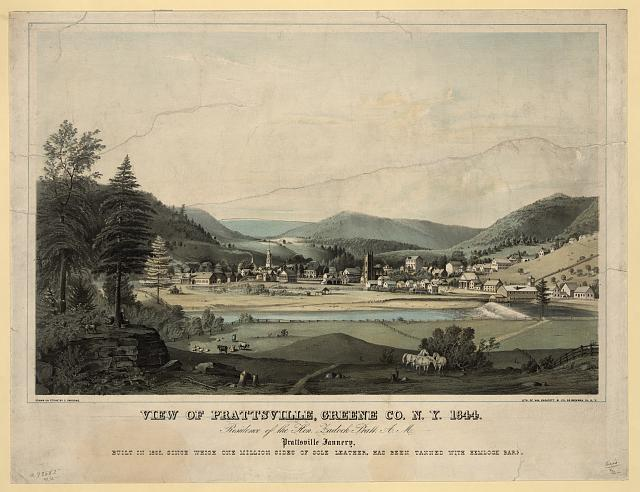 View of Prattsville, Greene Co., N.Y. 1844...