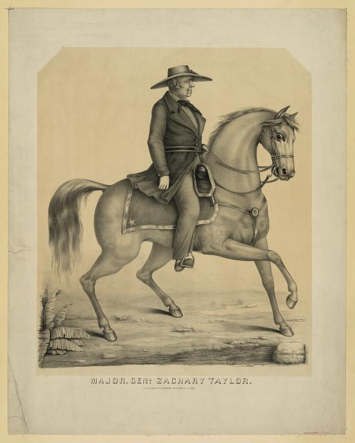 Major, Genl. Zachary Taylor