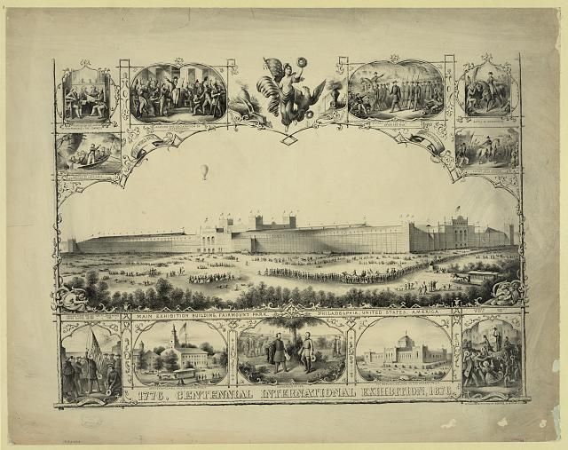 1776, Centennial International Exhibition, 1876. History of the United States