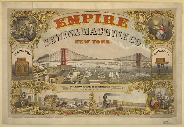 Empire Sewing Machine Co., New York