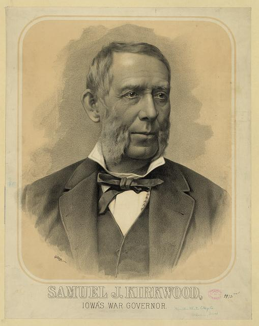 Samuel J. Kirkwood, Iowa's war governor