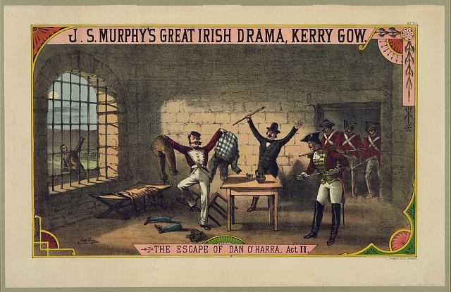 J.S. Murphy's great Irish drama, Kerry Gow. The escape of Dan O'Harra. Act II
