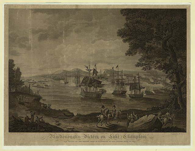 Macdonough&#39;s victory on Lake Champlain and defeat of the British Army at Plattsburg by Genl. Macomb, Sept. 17th 1814
