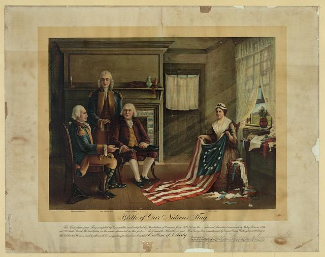 Birth of our nation's flag