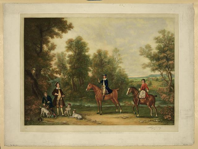 Members of the Beaufort hunt