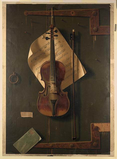 [Still life with violin]