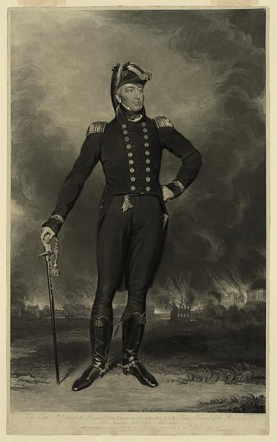 Sir George Cockburn, G.C.B., rear admiral of the Red & one of his Majesty's lords of the admiralty