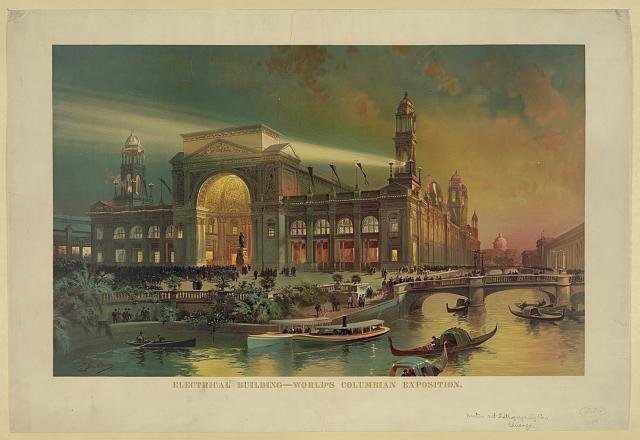 Electrical building. World's Columbian exposition