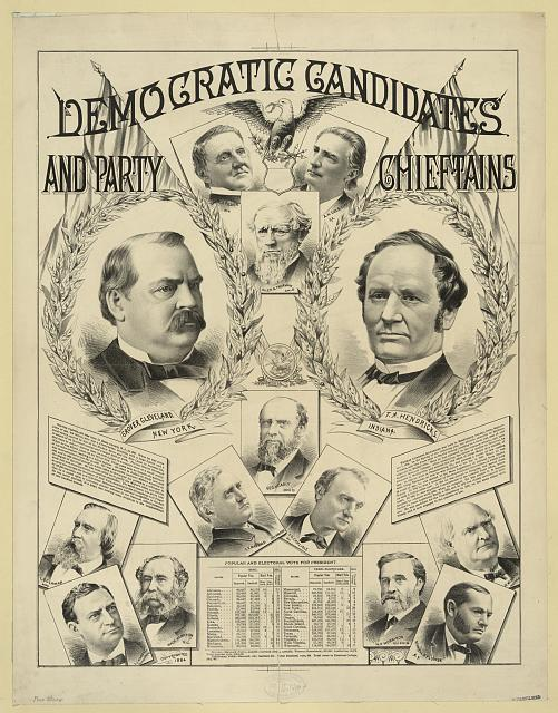 Democratic candidates and party chieftains