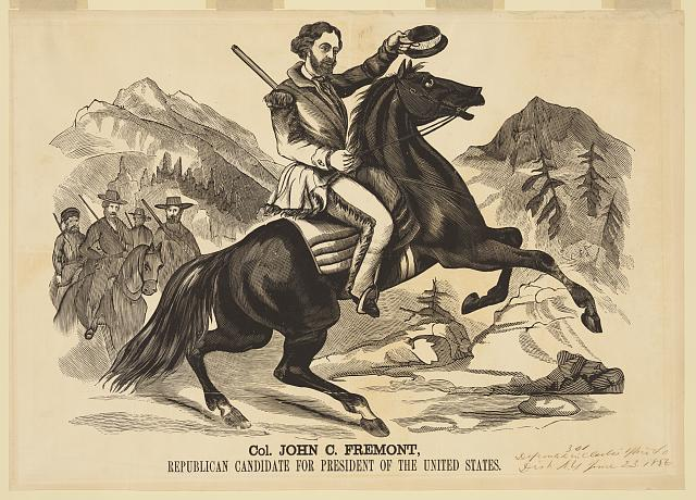 Col. John C. Fremont, Republican candidate for the President of the United States