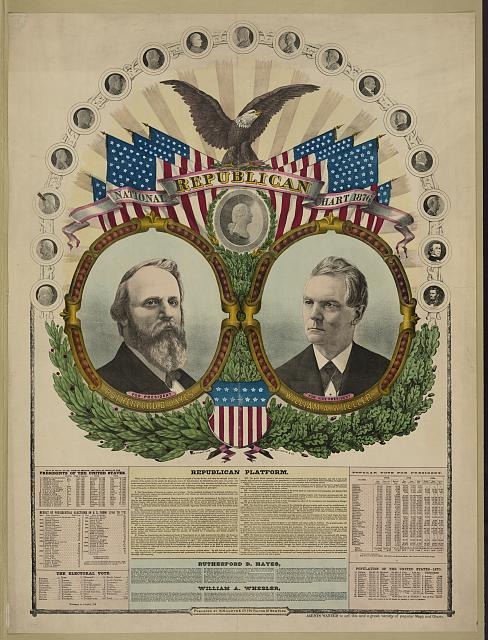 National Republican chart 1876