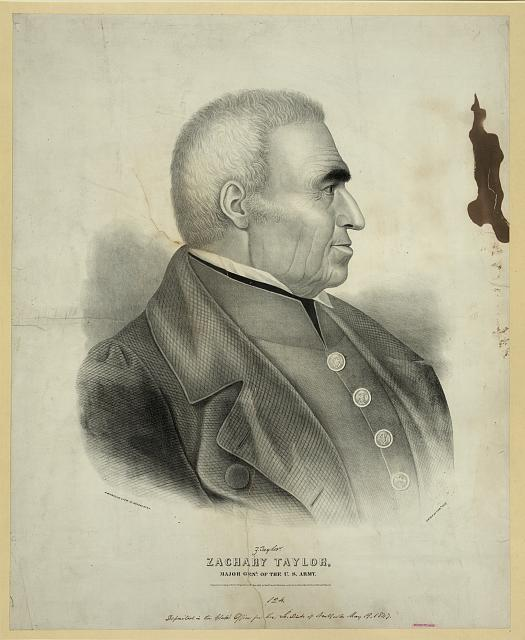 Zachary Taylor, major genl. of the U.S. Army