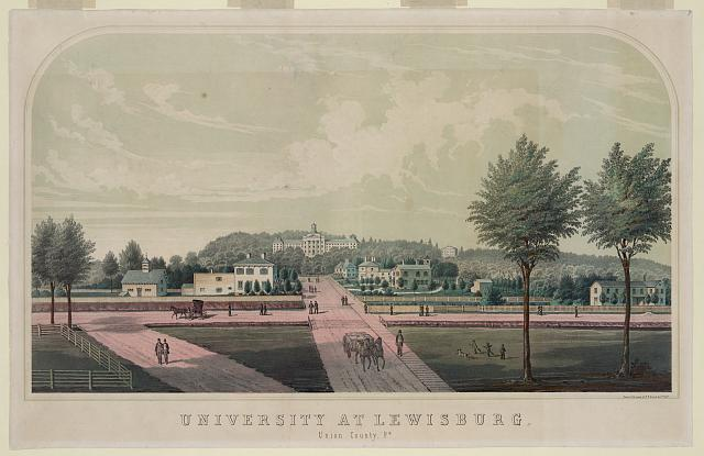 University at Lewisburg, Union County, Pa.