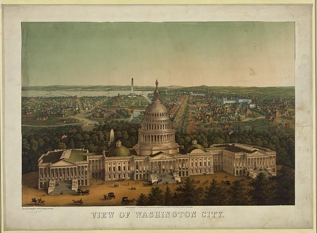 View of Washington City