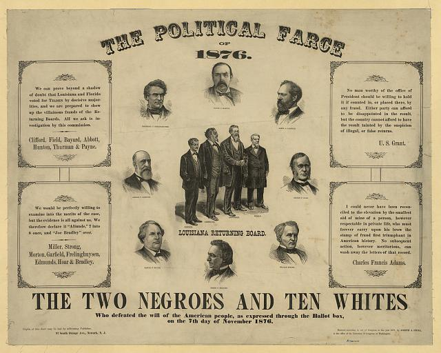 The political farce of 1876