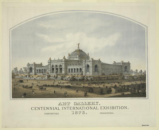 Art gallery, centennial international exhibition. 1876