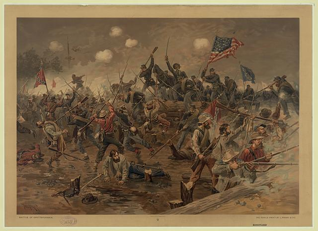Battle of Spottsylvania [sic]