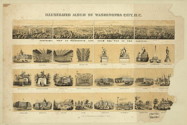 Illustrated album of Washington City, D.C.