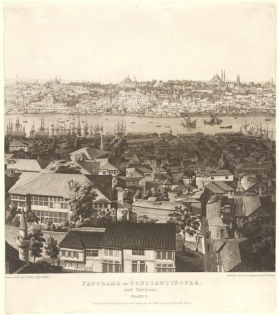 Panorama of Constantinople, and environs ...