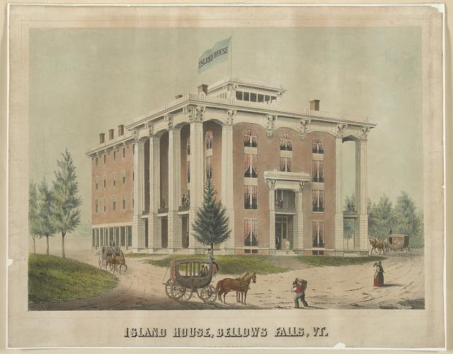 Island House, Bellows Falls, Vt.