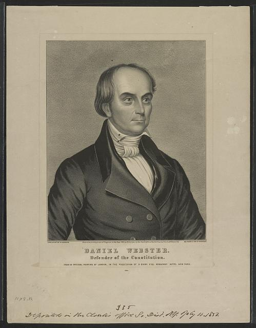 Daniel Webster: Defender of the constitution
