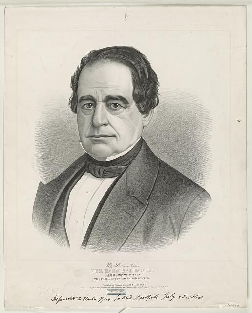 Hon. Hannibal Hamln: Republican candidate for vice president of the United States