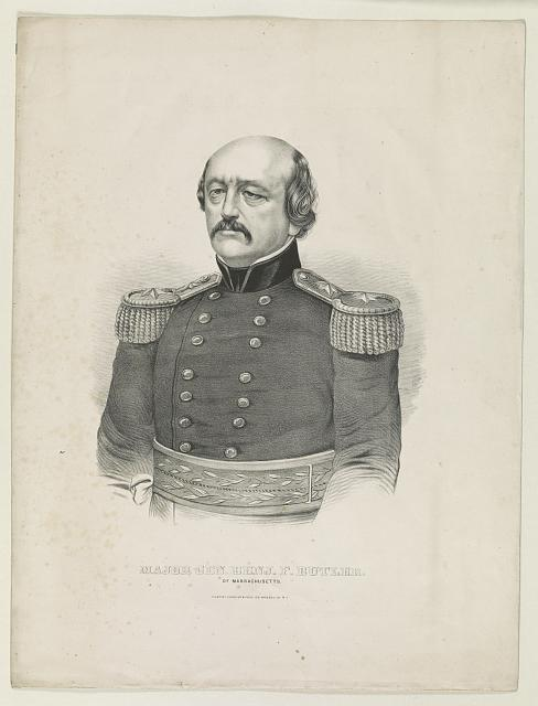 Major Gen. Benj. F. Butler: of Massachusetts