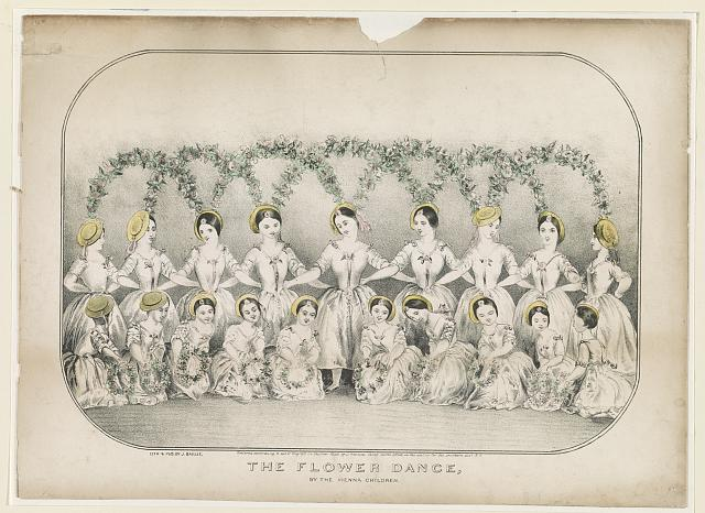 The flower dance, by the Vienna children