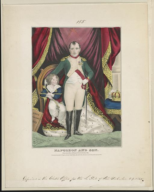 Napoleon and son