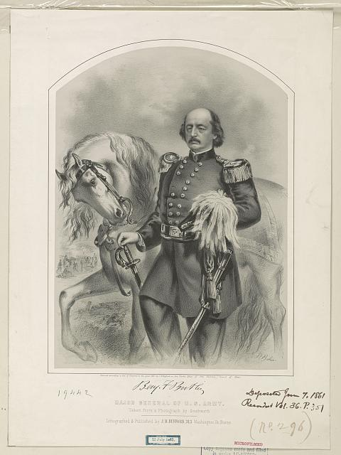 Major General of U.S. Army - Benjamin F. Butler