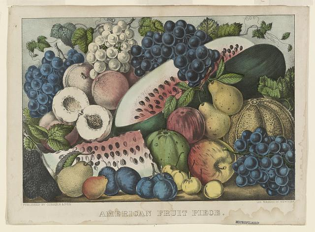 American fruit piece