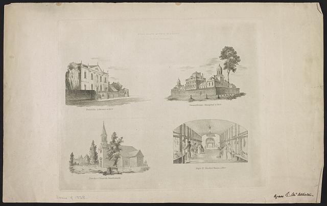 First plate of four subjects, for Birch's Philadelphia