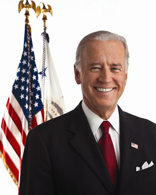 VP Biden portrait shoot /