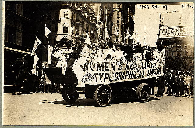 [Labor Day parade, New York, New York]