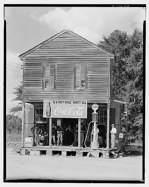 Crossroads store. Sprott, Alabama